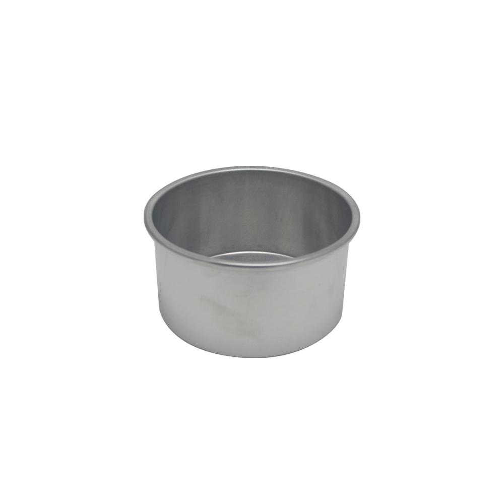 Forma de Bolo Redonda de Aluminio Reta Fixa 13x7 cm Doupan