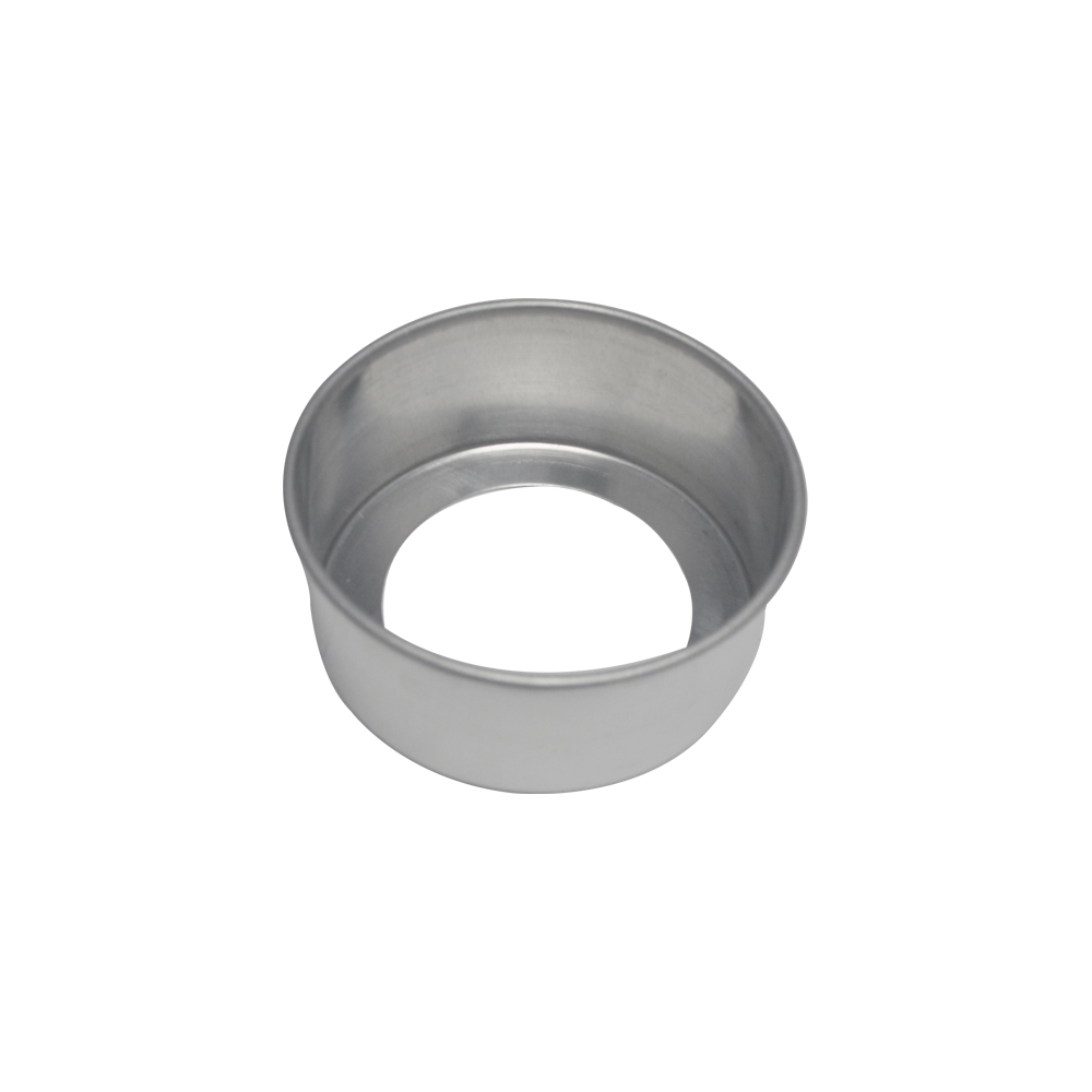Forma de Bolo Redonda Fundo Falso de Aluminio Reta 11x5 cm Doupan