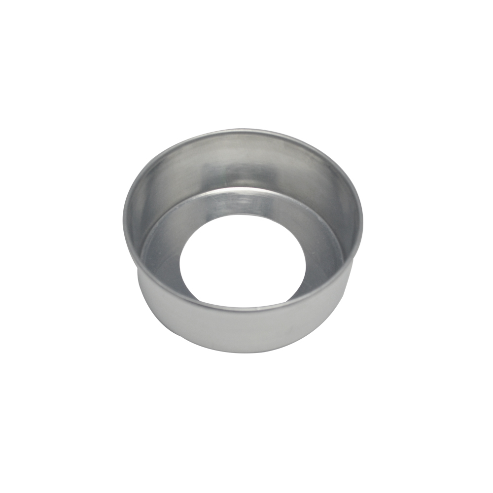 Forma de Bolo Redonda Fundo Falso de Aluminio Reta 13x5 cm Doupan