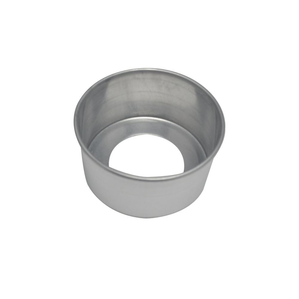 Forma de Bolo Redonda Fundo Falso de Aluminio Reta 13x7 cm Doupan