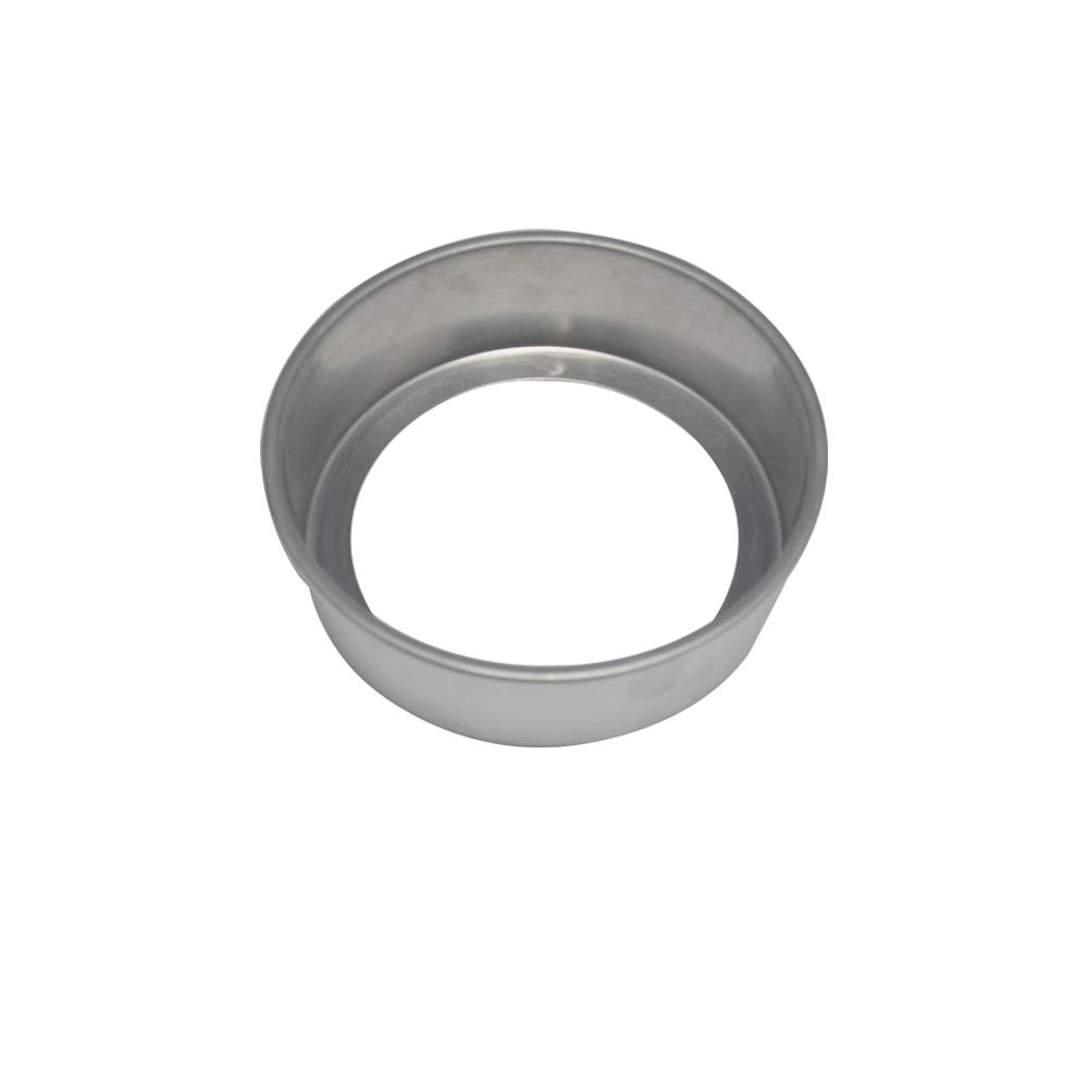 Forma de Bolo Redonda Fundo Falso de Aluminio Reta 15x5 cm Doupan