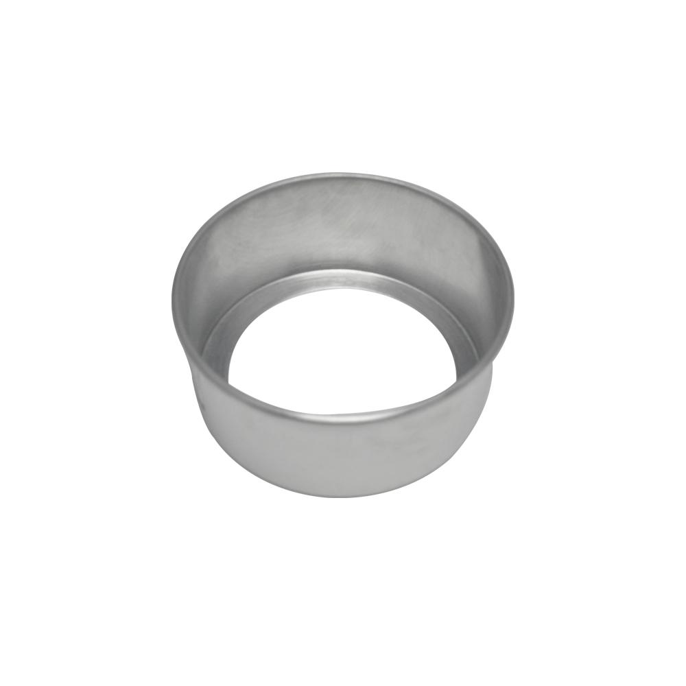 Forma de Bolo Redonda Fundo Falso de Aluminio Reta 15x7 cm Doupan