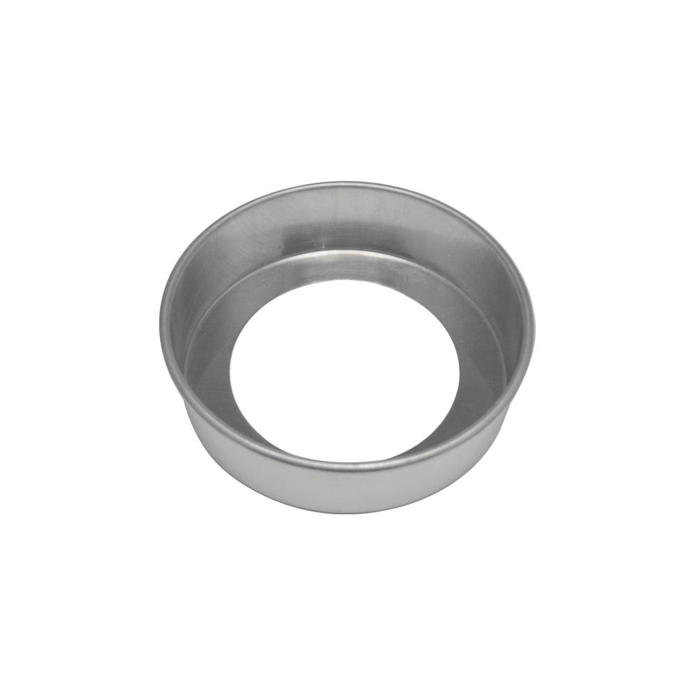 Forma de Bolo Redonda Fundo Falso de Aluminio Reta 17x5 cm Doupan