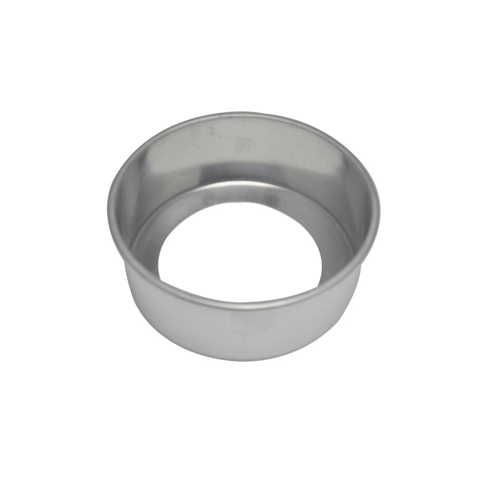 Forma de Bolo Redonda Fundo Falso de Aluminio Reta 17x7 cm Doupan