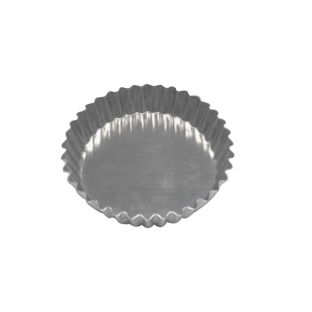 Forma para Torta de Alumínio Crespa Fixa 13x2 cm Doupan