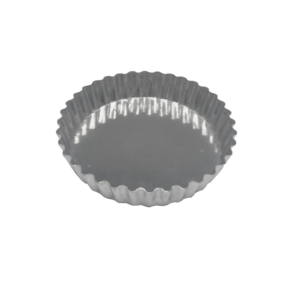 Forma para Torta de Alumínio Crespa Fixa 15x3 cm Doupan