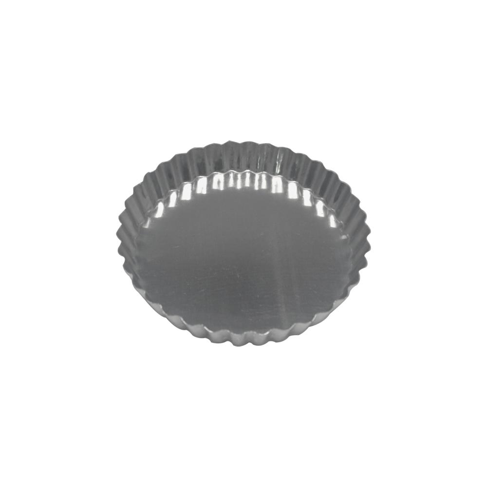 Forma para Torta de Alumínio Crespa Fixa 17x3 cm Doupan