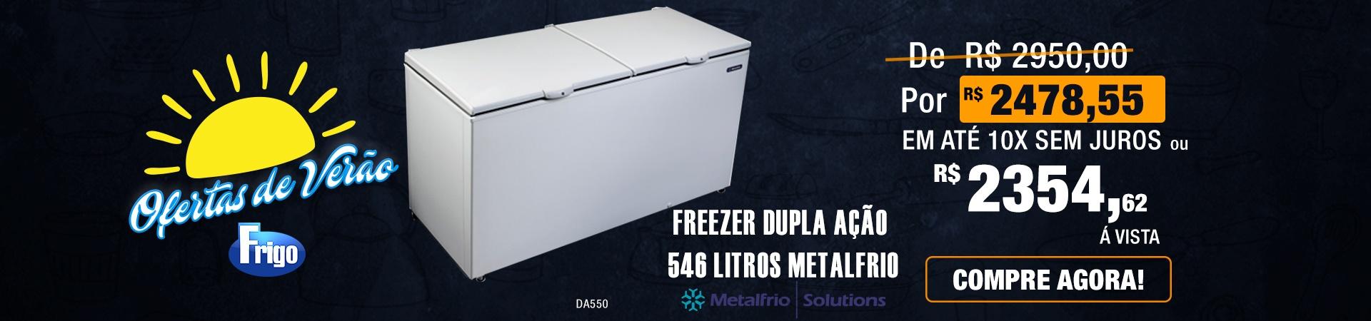 Freezer Metalfrio DA550