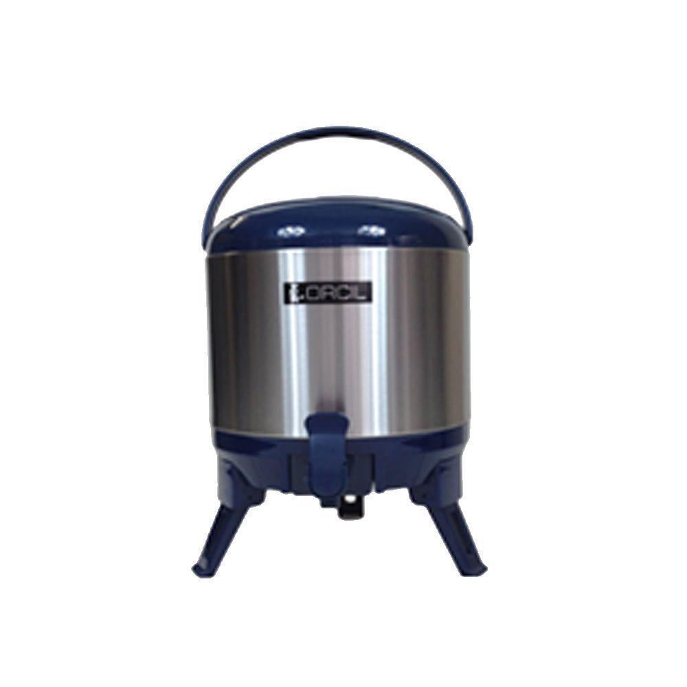 Botijão Térmico 5,8 Litros Azul Orcil