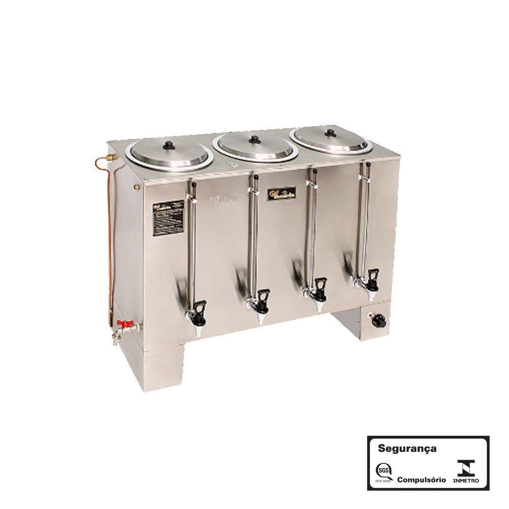 Cafeteira Industrial 60 Litros Retangular 220V Monarcha