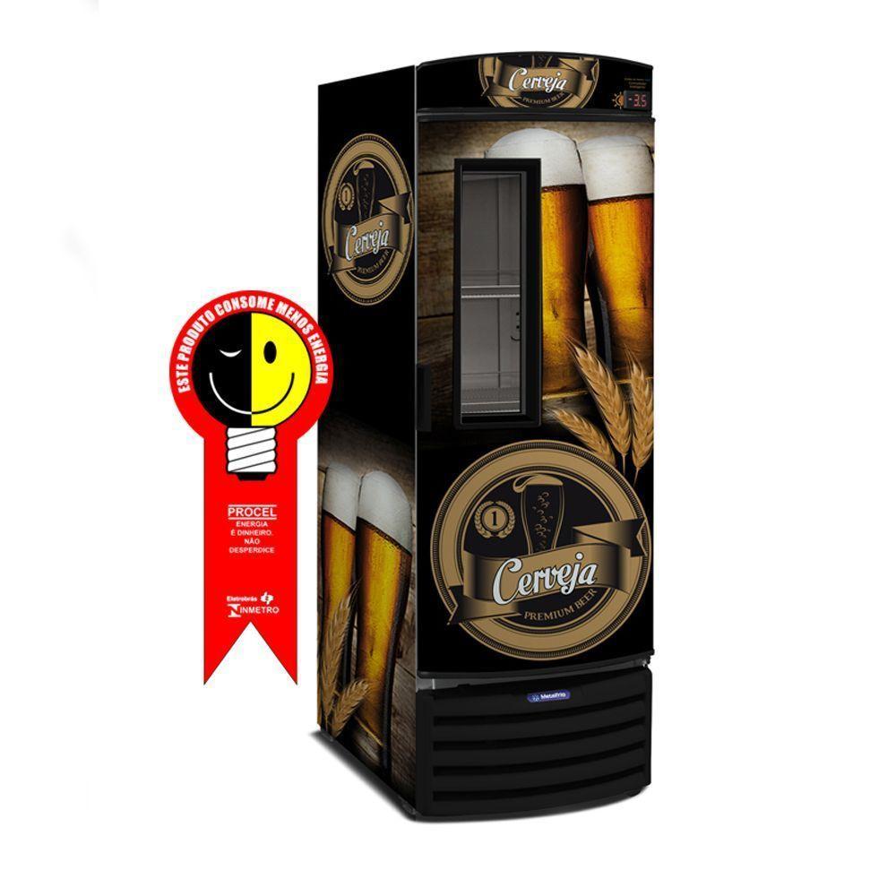 Cervejeira Metalfrio 572 Litros Preta 220V - VN50FL