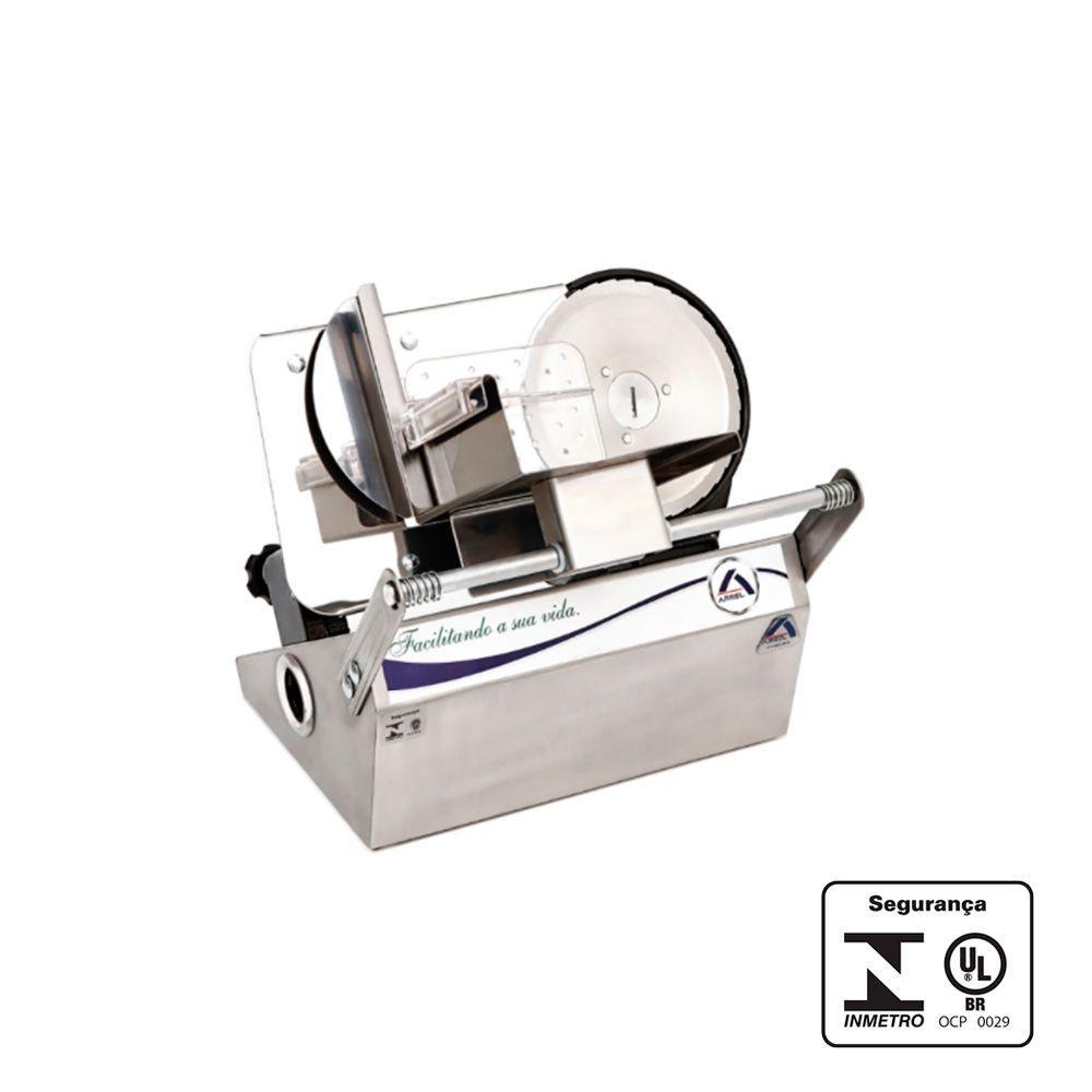 Fatiador de Frios Pequeno Porte Inox 170 mm 220V - Arbel