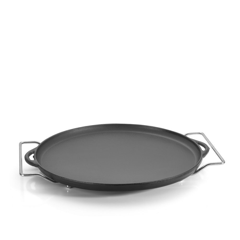 Forma Pizza de Ferro 30x12 com Suporte Fumil