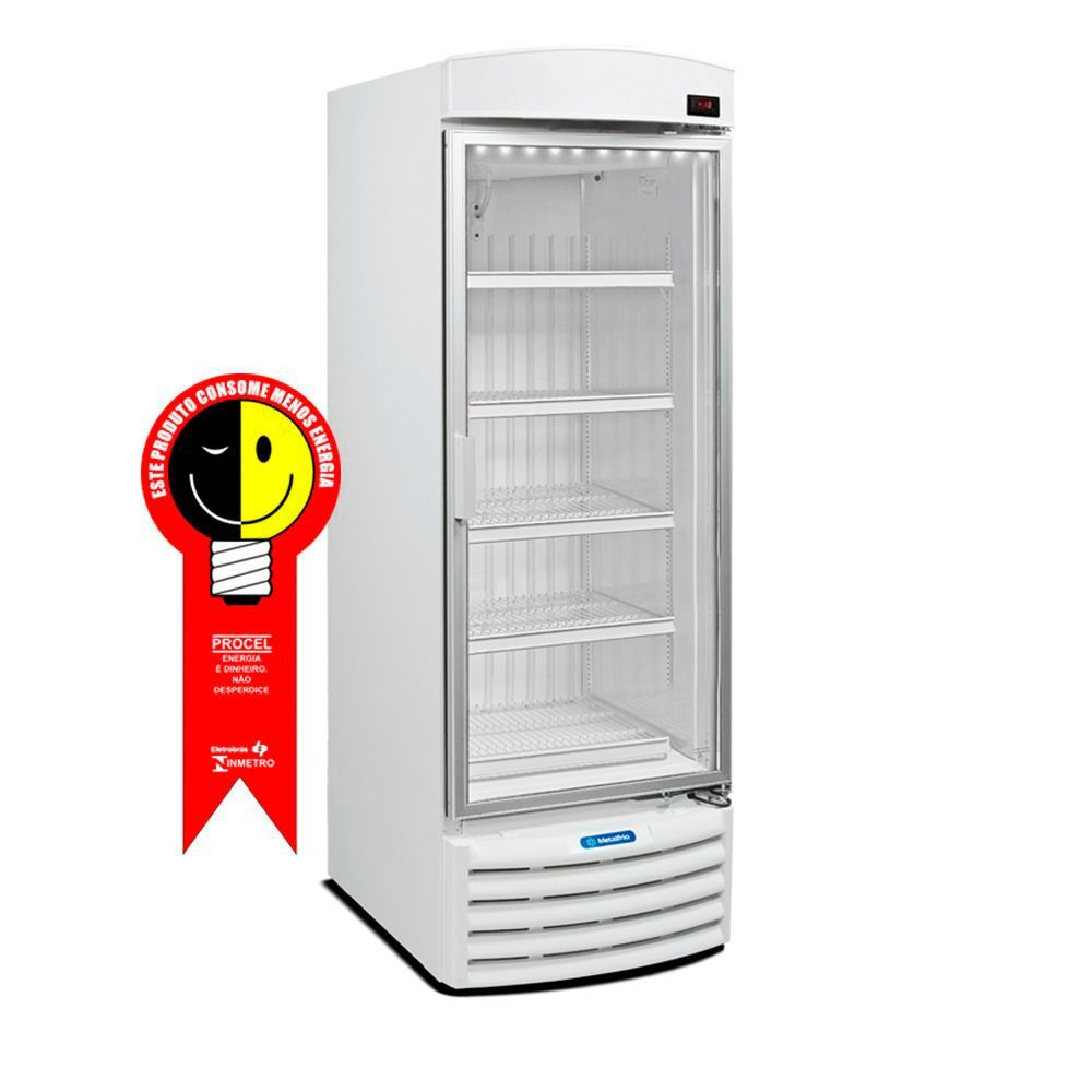 Freezer Vertical Metalfrio 572 Litros Porta de Vidro 220V - VF50FB