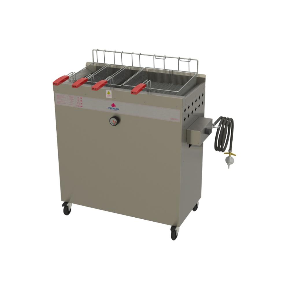 Fritadeira à Gás Água e Óleo 30 Litro Progás