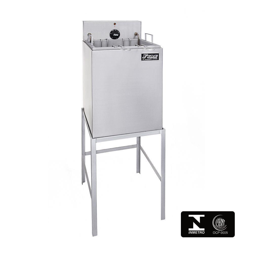 Fritadeira Elétrica Industrial Com Filtro de Água e Cavalete 220V Fire