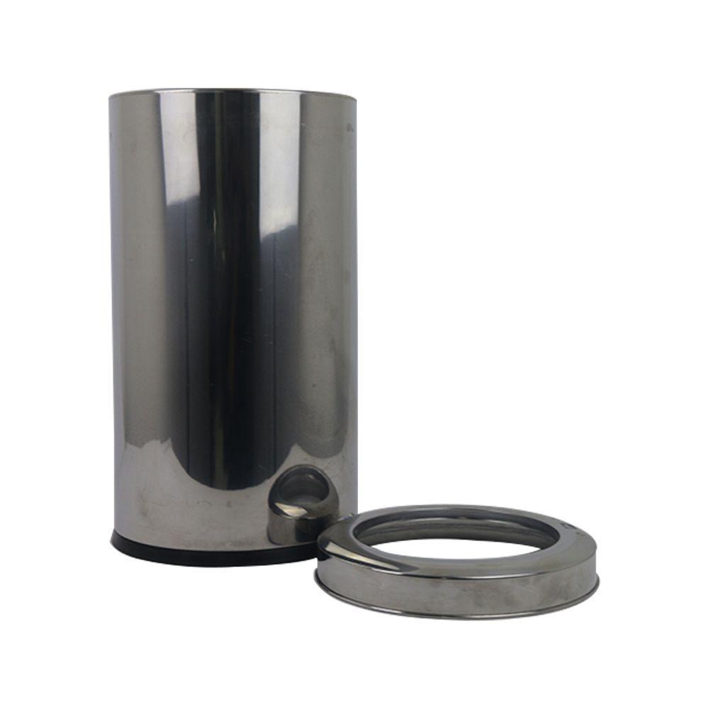 Lixeira Inox 21 Litros com Aro Brinox