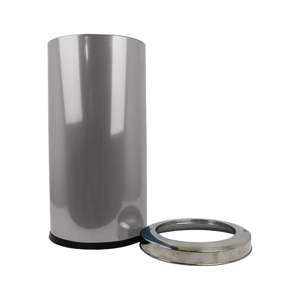Lixeira Inox 28 Litros com Aro Brinox