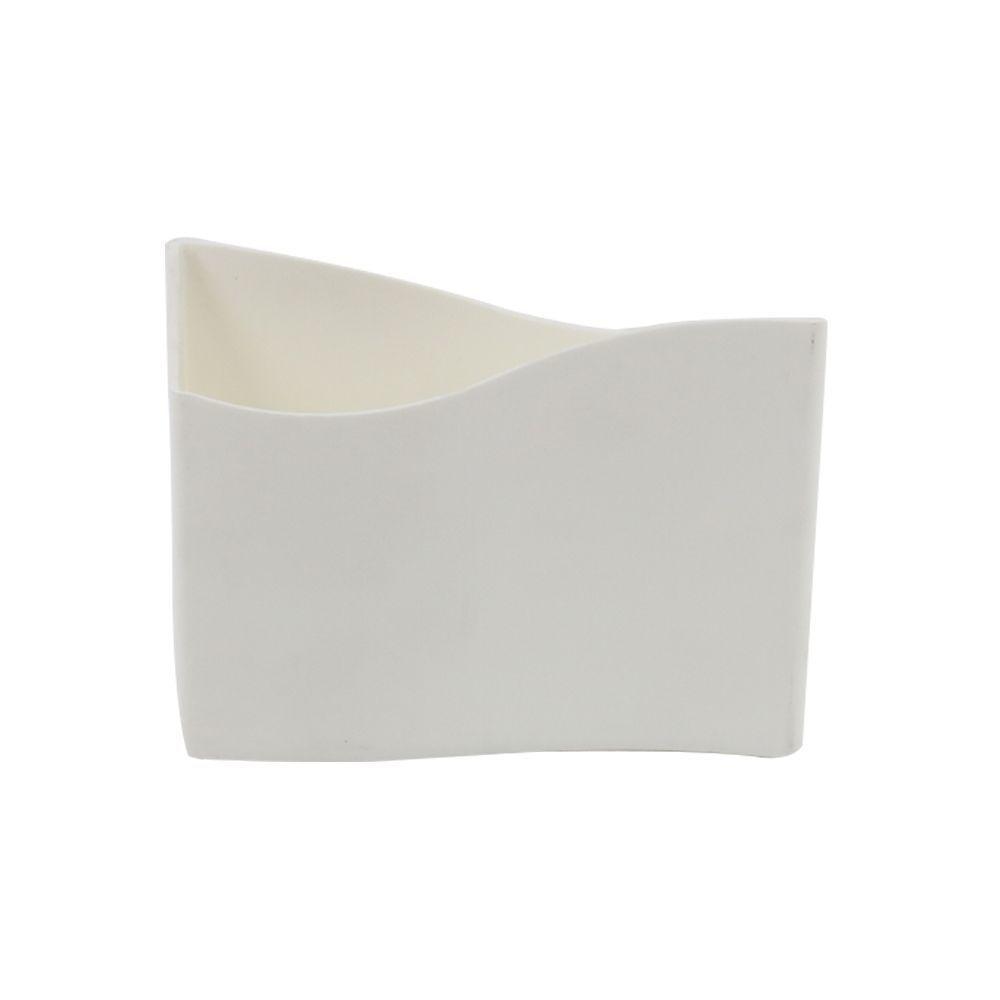 Porta Guardanapo de Mesa em Polipropileno Branco Coza