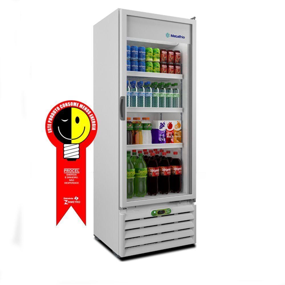 Refrigerador Metalfrio Vertical 406 Litros 220V - VB40RE