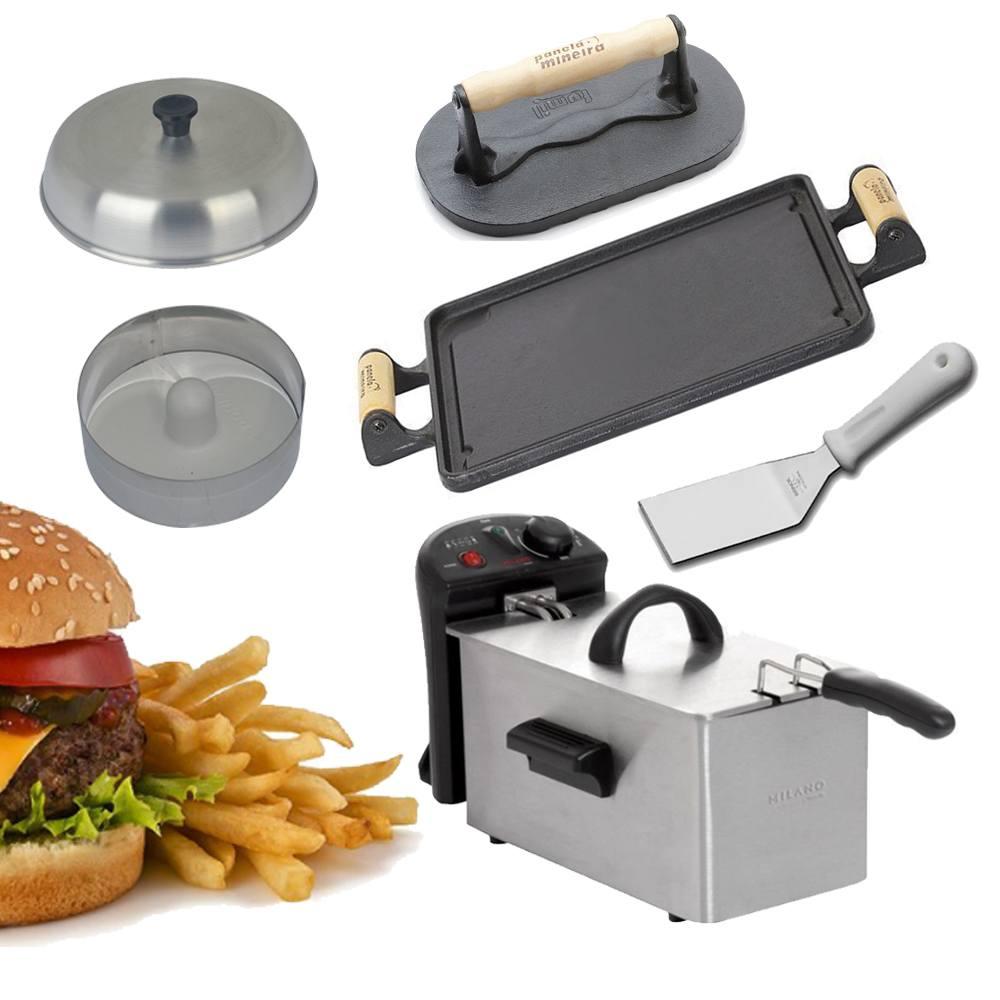 Kit Hamburgueiro Fast Food Caseiro Frigo