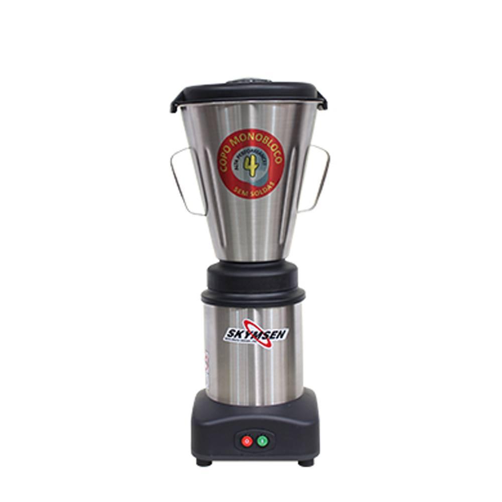 Liquidificador Industrial 04 Litros Inox LS-04MB Skymsen 220V