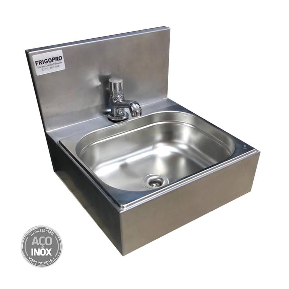 Pia de Assepsia Aço Inox  Acionamento de Água Manual Frigopro