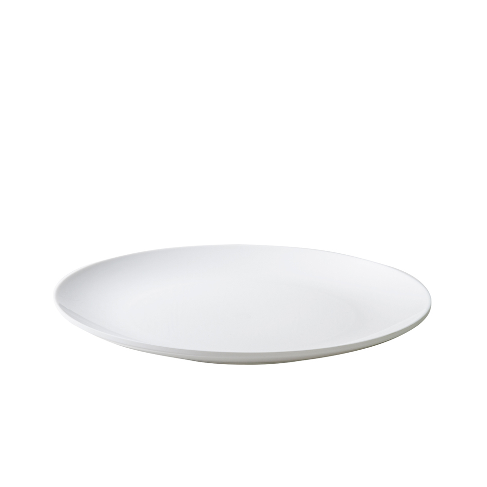 Prato De Bolo Ellegance 30 cm Branco Vemplast