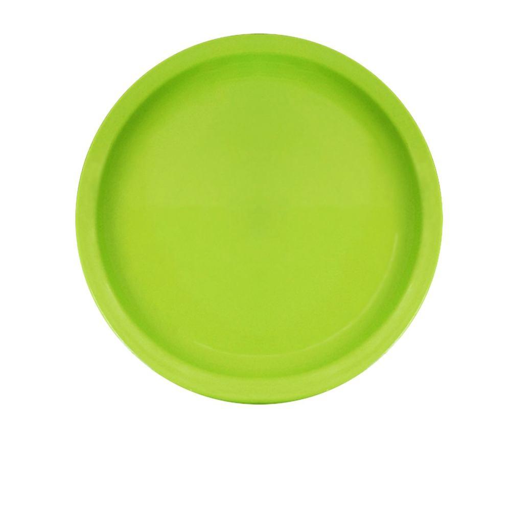 Prato Ellegance 19 cm de Polipropileno Verde Vemplast