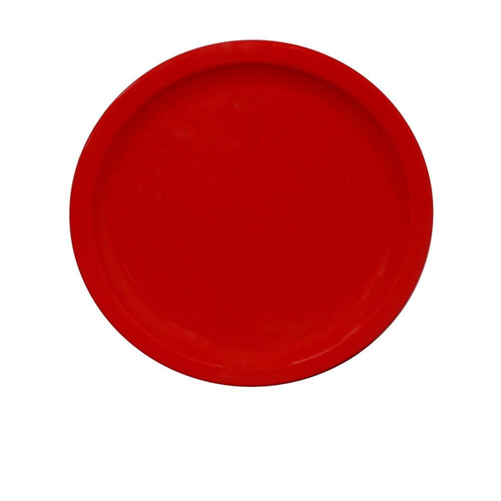 Prato Ellegance 25 cm de Polipropileno Vermelho Vemplast