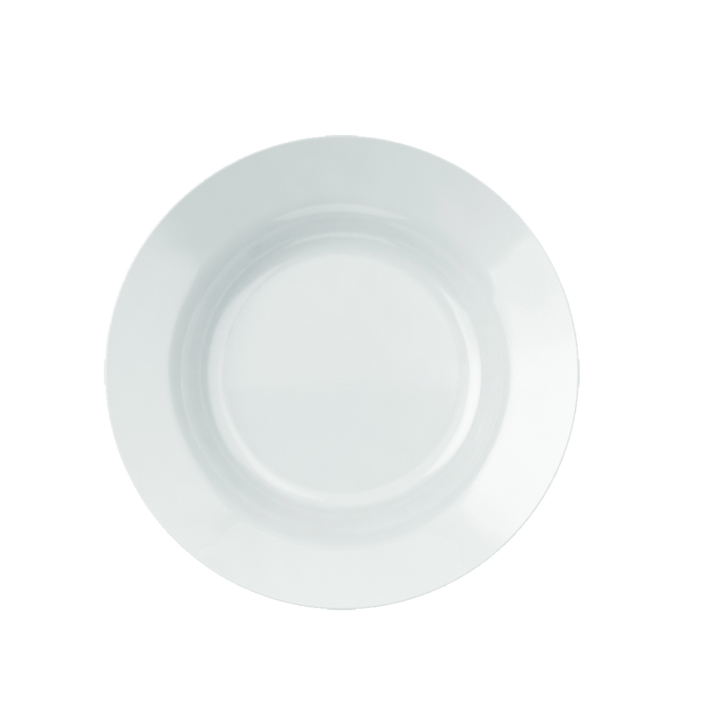 Prato Fundo Menu 23 cm Branco pçs Nadir Figueiredo 5843
