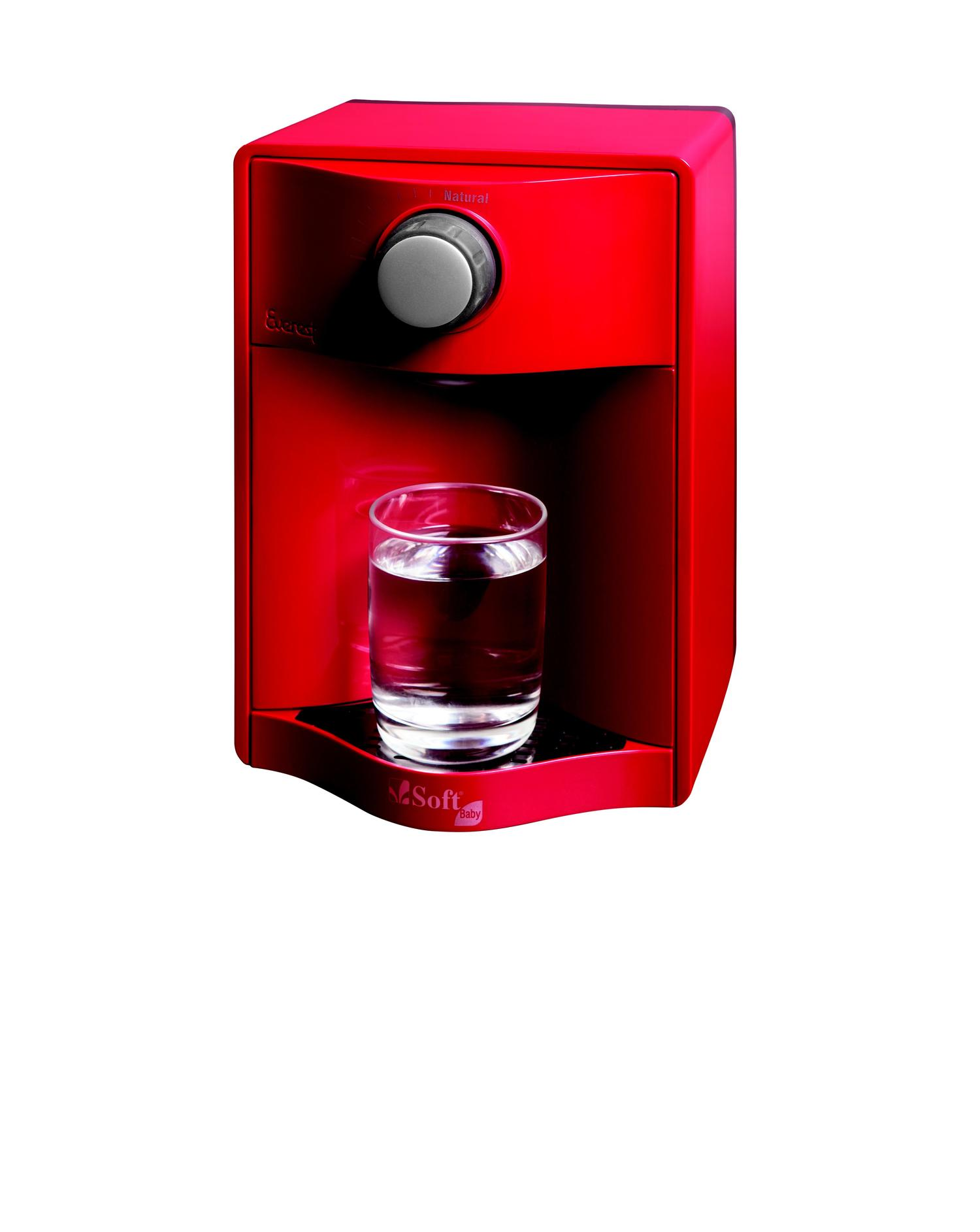 Purificador de Água Soft Baby Vermelho 51656