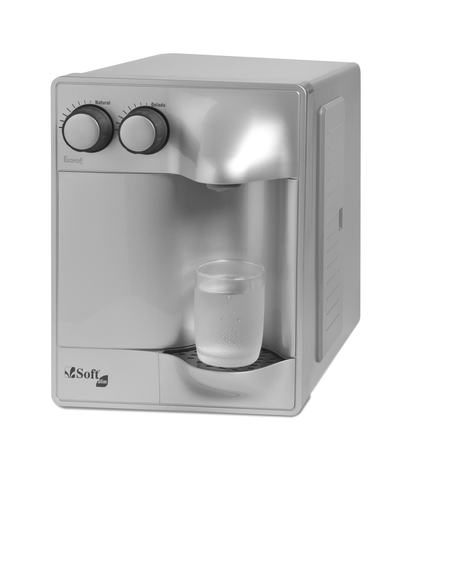 Purificador de Água Soft Slim Prata 220V 51618
