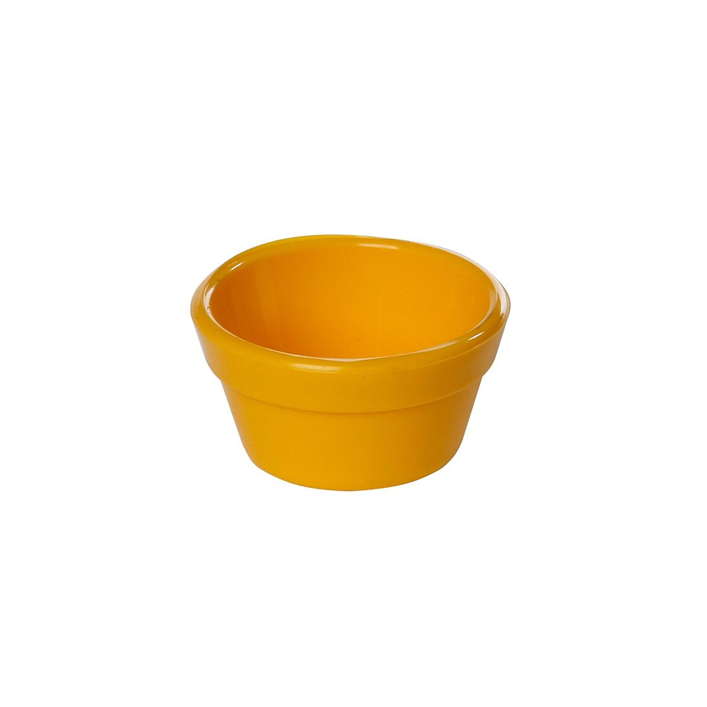 Ramequim Cheff 30 ml de Polipropileno Amarelo Vemplast