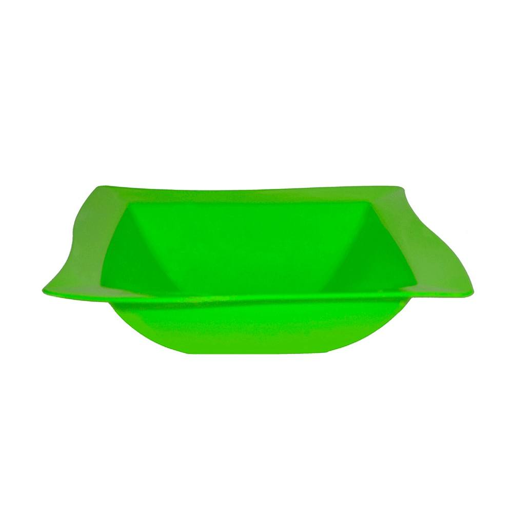 Saladeira Moove Medio de Polipropileno Verde Vemplast