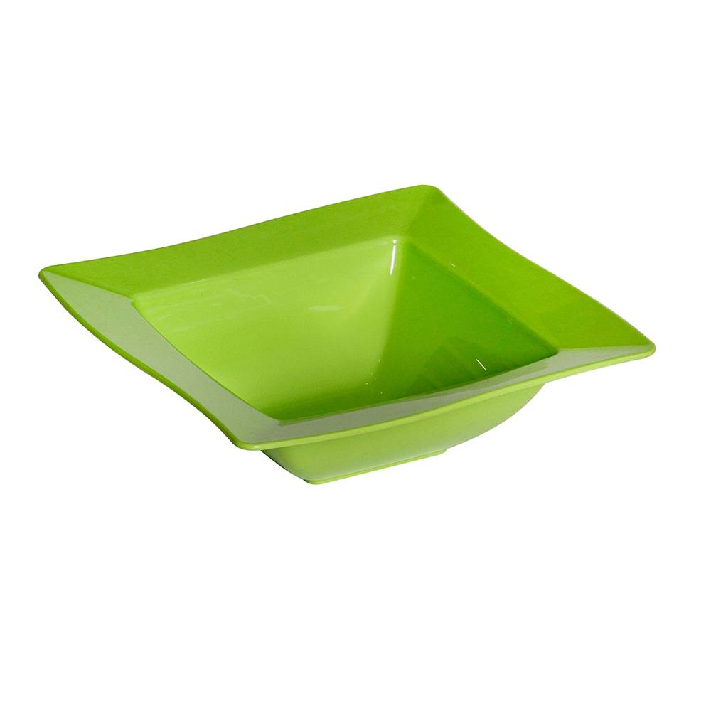 Saladeira Moove Pequeno de Polipropileno Verde Vemplast