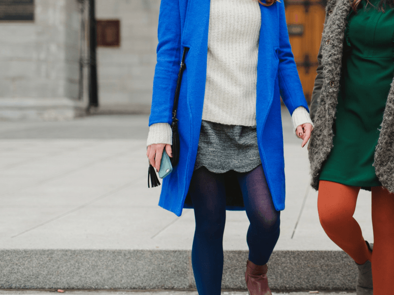 The Top Colours to Wear in the Winter