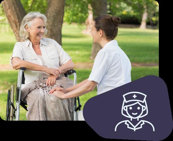 Vorteile für Pfleger