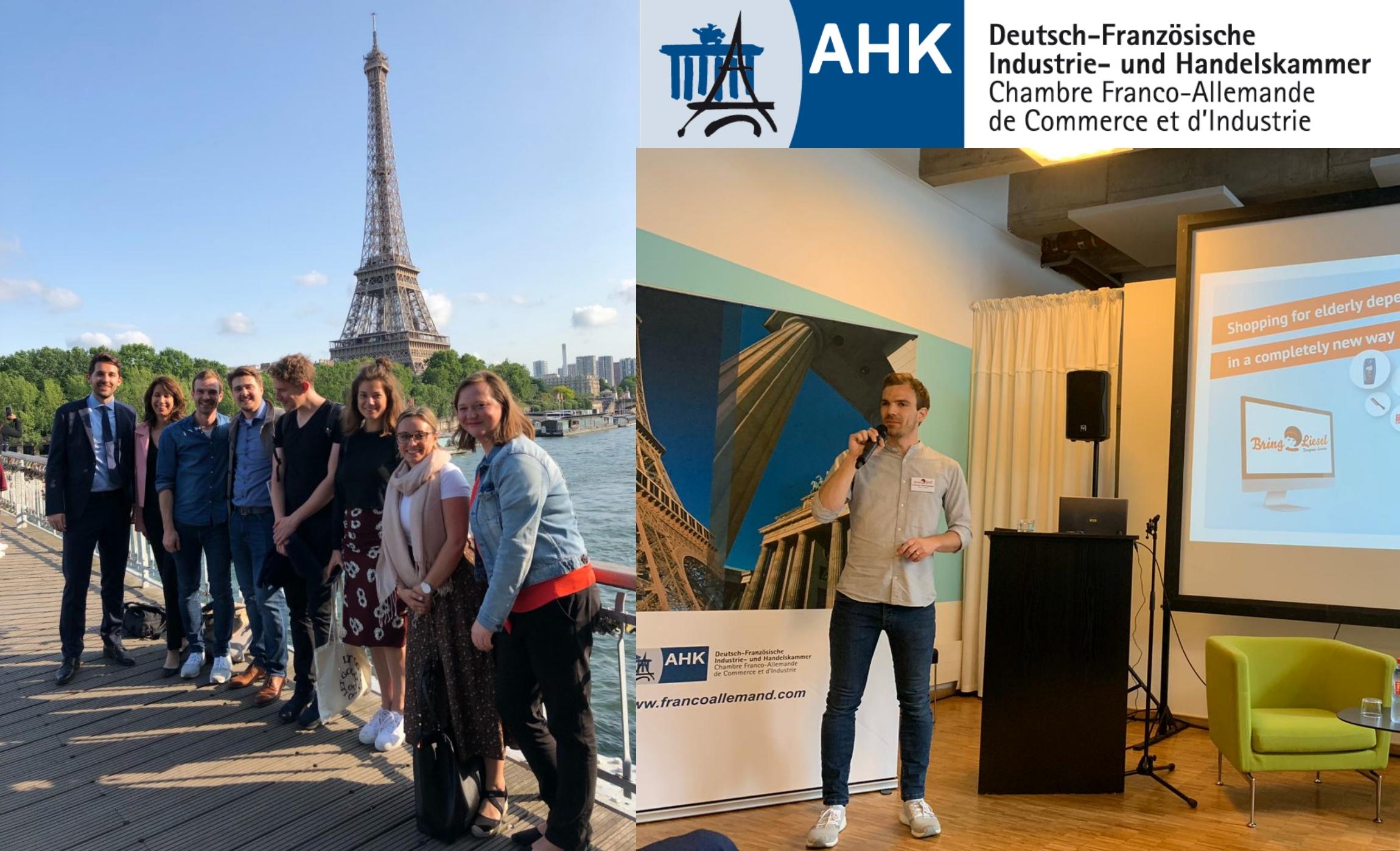 Startup-Delegation.             Mit AHK Nach Paris.