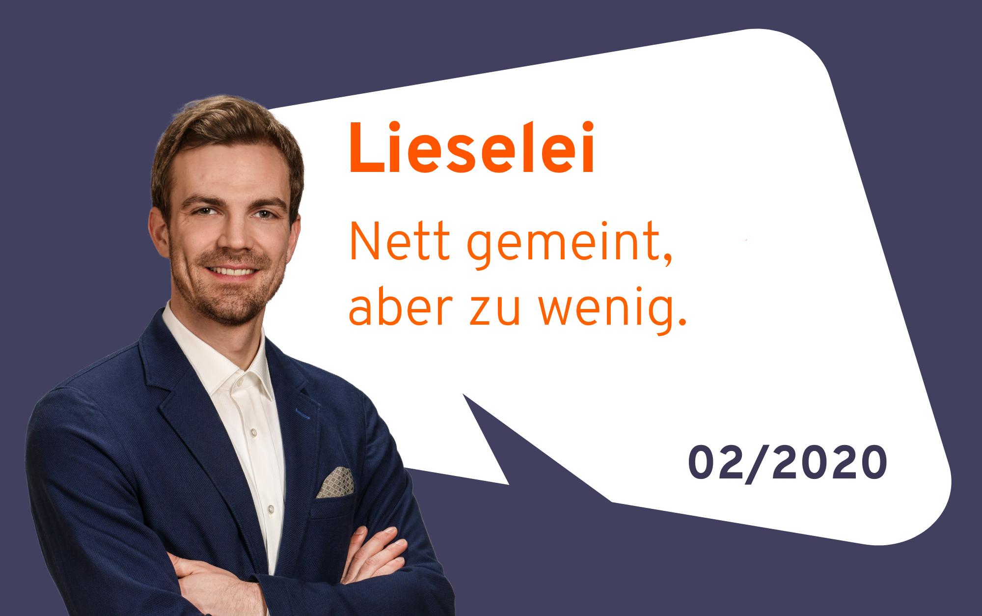 Lieselei – Nett Gemeint, Aber Zu Wenig.