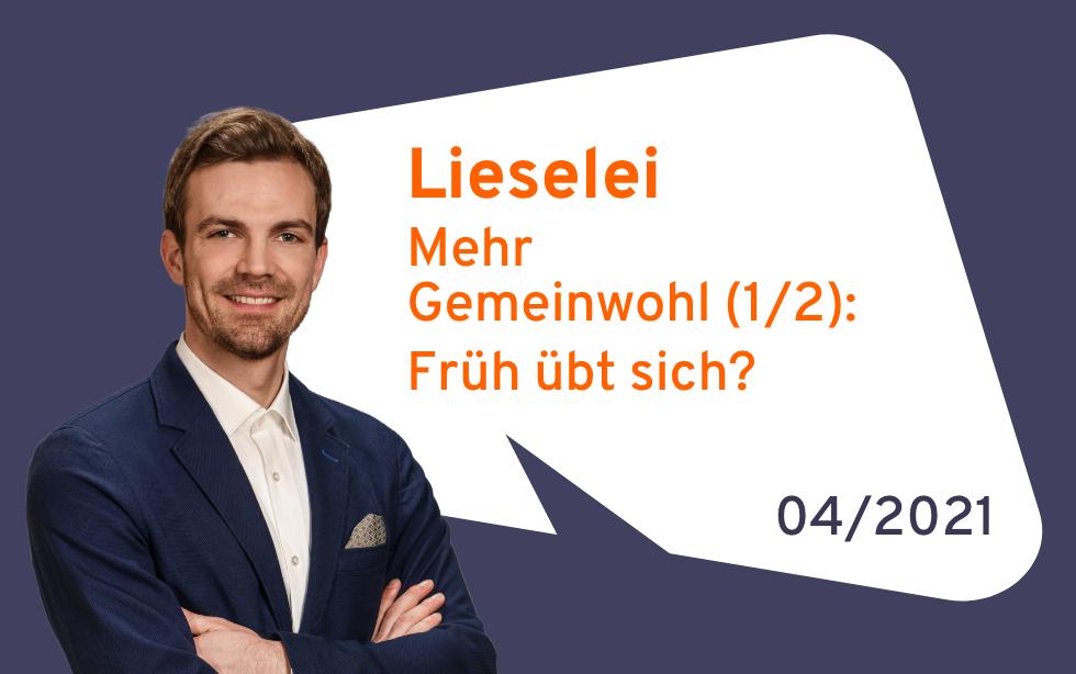 Lieselei: Mehr Gemeinwohl (1/2)