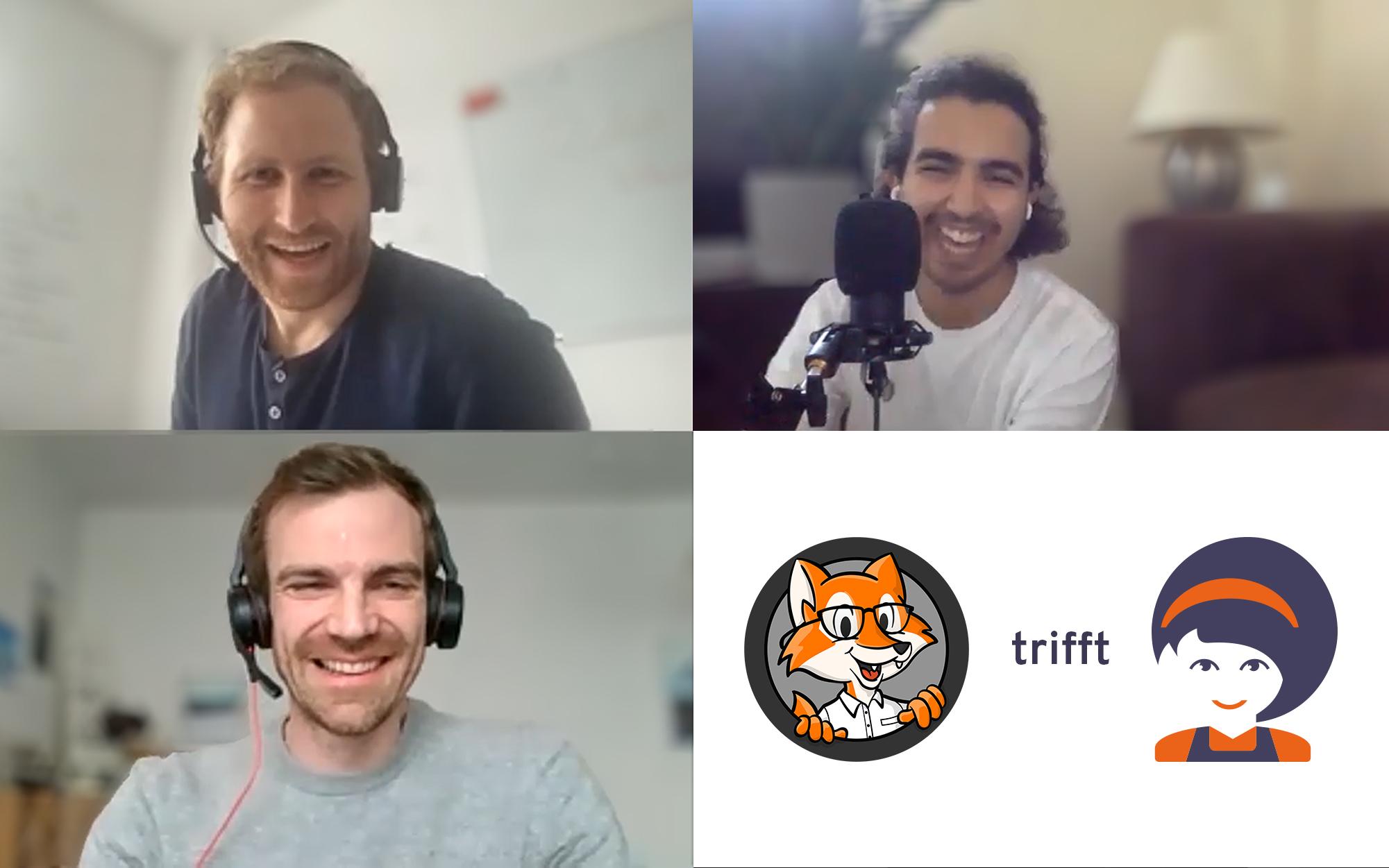 Qualität Vor Blitzstart: BringLiesel Beim Podcast Podsimpel