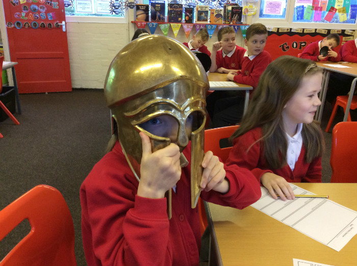 Ancient Greek Day – Front Street Primary School