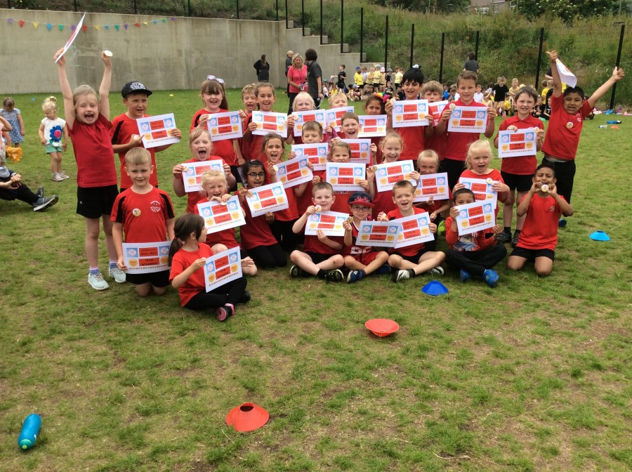 Year 1, 2 and 3 Sports Day