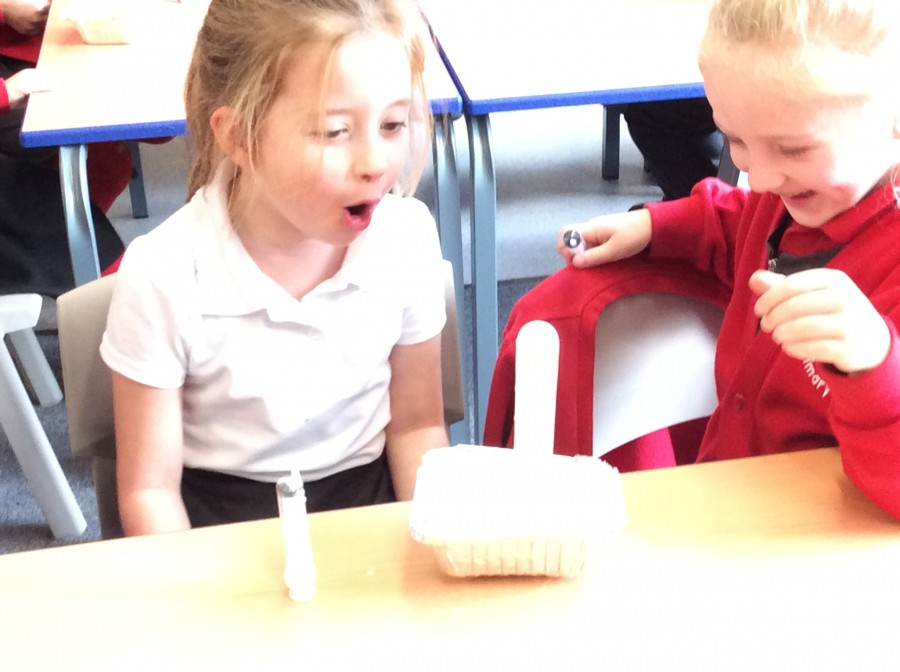Christmas Science in Year 2