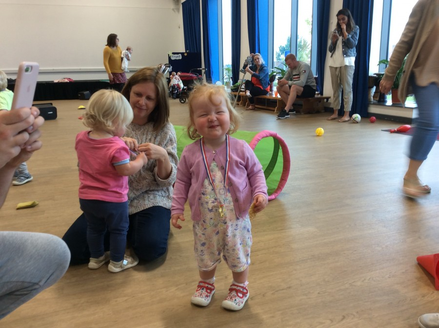 Toddlers sport day