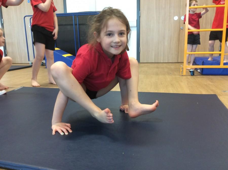 Gymnastics in year 2
