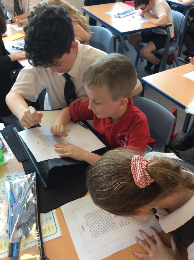 Visit from Language Leaders