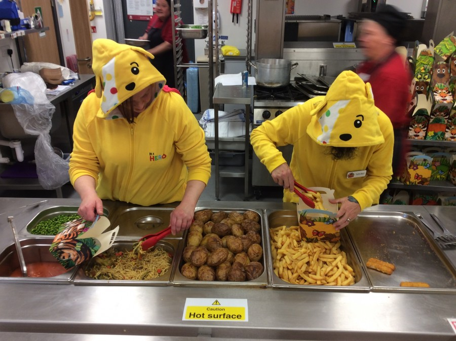 Children in Need Lunch