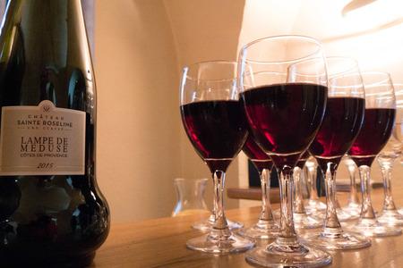 Dégustation des vins du Château Sainte Roseline, Vintage Report Provence 2018